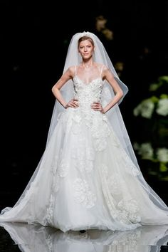Elle Saab Barcelona bridal fashion week 2013  Photo: Imaxtree