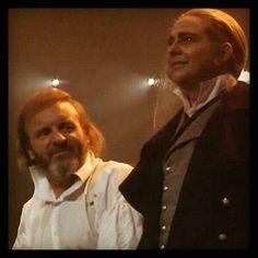 Philip Quast | Philip Quast and Colm Wilkinson at curtain call | Film and TV Stuff