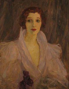 Sir John Lavery :Hazel Lavery ca. 1920