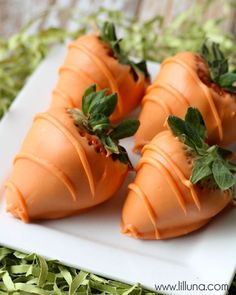 "Chocolate Covered Strawberry ""Carrots"""