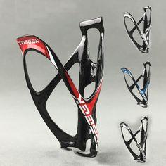 62a1637c97d Newest TOSEEK 3K Full Carbon Fibre Road Bike Water Bottle Cages Bicycle MTB  Bottle Holder Accessories