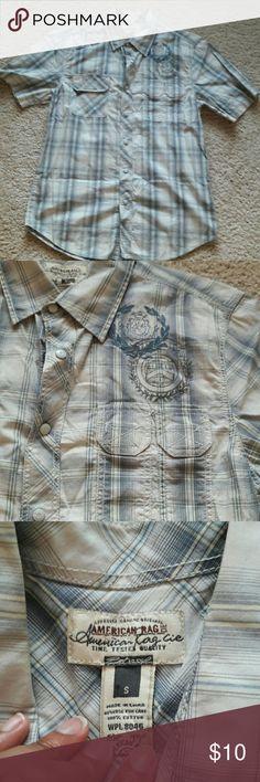 American Rag button up shirt American Rag button up shirt American Rag  Shirts Casual Button Down Shirts