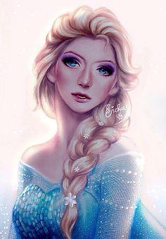 Elsa (by Enmoire @deviantART) #Frozen