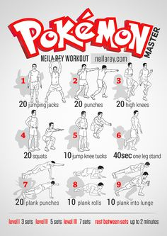 Pokemon Master Workout