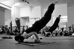 Yoga Liana Mayurasana by NiCoLeTT@, via Flickr
