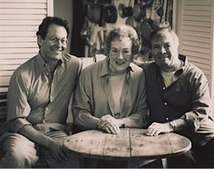 Geof Drummond, Julia, and Jacques Pepin