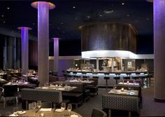 io LED Lighting in bar and restaurant at Guthrie Theater, Minneapolis, MN