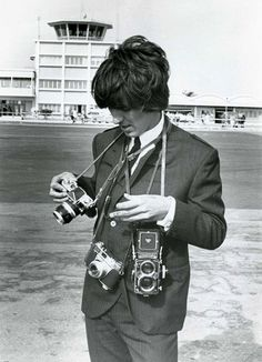 George Harrison w/ various cameras
