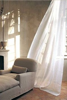 greige: interior design ideas and inspiration for the transitional home : Cote Bastide bath and home Greige, Interior And Exterior, Interior Design, Living Spaces, Living Room, White Curtains, Bedroom Curtains, Linen Curtains, Piece A Vivre