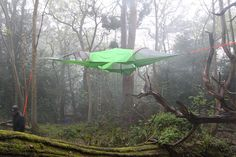 This Suspended Tent Lets You Sleep In The Trees tentsile.com