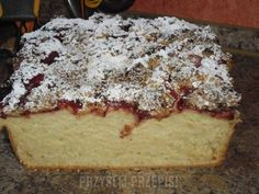cheesecake from Cheesecake by Hannah Miles Banana Bread, French Toast, Cheesecake, Pudding, Baking, Breakfast, Ethnic Recipes, Food, Cakes