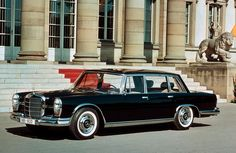 The most beautiful car sales brochure in the world! Mercedes-Benz 600