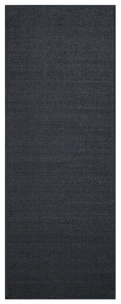 Custom Size Runner Black Solid Single Color Plain Non-Slip (Non-Skid) Rubber Back Stair Hallway Rug by Feet 31 Inch Wide Select Your Length *** More info could be found at the image url. (This is an affiliate link) #HomeDecor