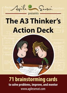 The Thinker's Action Deck 71 Brainstorming Cards to Solve Problems, Improve, and Mentor Systems Thinking, Process Improvement, Charts And Graphs, Critical Thinking Skills, Pre And Post, Design Thinking, Deck Of Cards, Thought Provoking, Problem Solving