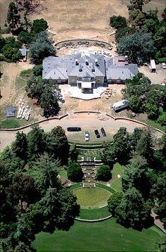 Oprah  42 acre estate in Montecito, California