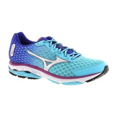 Mizuno Wave Rider 18 ($120) ❤ liked on Polyvore featuring shoes, athletic  shoes. Lightweight Running ShoesMizuno ShoesBlue ...