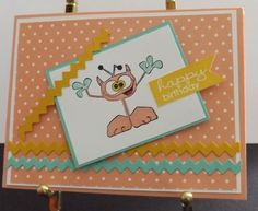 Wacky Birthday Card http://www.shophandmade.com/store/creationsbysharn/