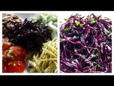 Red Cabbage Salad - Raw Vegetable Salads - Online Cooking Classes