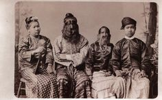"""The famous """"Sacred Hairy Family of Birma"""" begins with Shwe-Maong, who was born in the highlands of Laos in 1796. At birth the child was covered in silky, greyish-brown lanugo hair, quite a different color and texture than that of an ordinary Southeast Asian. This hair grew thickest on his face, in particular his ears and nose. He was also toothless."""