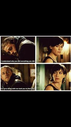 Tara and Jax - this was heart breaking Film Books, Book Tv, Sons Of Anarchy Samcro, Sons Of Anarchy Motorcycles, Charlie Hunnam Soa, Best Series, Tv Series, Jax Teller, My Heart Is Breaking