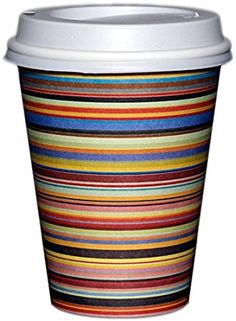 Amazon.com: Barista Cups 100/pk 12 oz Coffee Cups & Firm-Fit Lids; Stunning & Sturdy Single-Wall Hot Cups from the Makers of The Gripple Cup; Fresh Fun Classic Designs; Eco-Friendly - HOME OFFICE EVENTS PARTIES HOLIDAY CUPS (G'MORNING STRIPES). PROMO CODE 'TIL 10/1/16:  amzpromoter.com/o/ICyL/BARISTACUPSGRIPPLECUPSNATLCOFFEEDAY Coffee Cafe, Coffee Drinks, Coffee Shops, Disposable Coffee Cups, Steaming Cup, Wedding Cups, Winter Drinks, Eco Friendly House, Party Cups