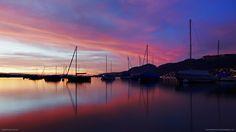 Casinha colorida: Se me chamar, eu vou: Lago Thun, Suiça