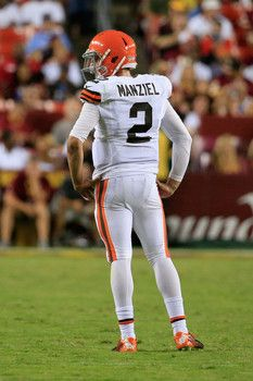 """The second preseason week was quite """"the week that was"""" for Johnny Manziel's Cleveland Browns. The NFL fined Johnny $12,000 for his gesture against the Redskins on ESPN's Monday Night Football. #espn #johnnymanziel #clevelandbrowns"""