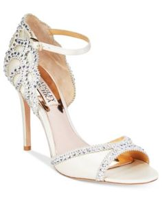 Badgley Mischka Roxy Evening Sandals | macys.com