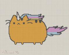 Unicat Pattern by KittyBywaters on deviantART