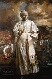 Ser Santo é lutar contra os pecados de todos os dias.(S. João Paulo II)