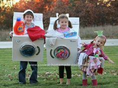 Washer and drier costume