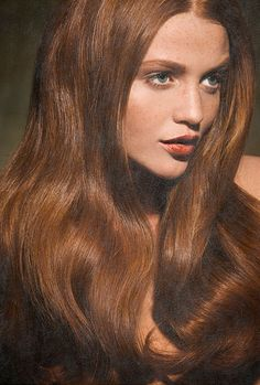 """Anonymous asked you: """" Is auburn considered a redhead? """" Auburn & Chestnut - brown hair with red undertones. auburn is more on the red side while chestnut is on the brown. ~ terms describing red hair,..."""