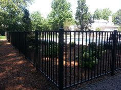 Outdoor Best Of Black Aluminum Fence Black Aluminum Fence Ties within measurements 1024 X 768 Barrette Aluminum Fencing - Lay Your Reasons Out Placing a Wisconsin Weather, Fencing Companies, Cedar Fence, Wood Fences, Fence Boards, Aluminum Fence, Rail Fence, Roofing Contractors, Swimming Pools