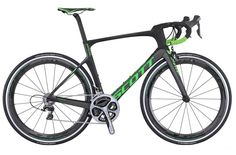 Scott Foil Team Issue 2016 Road Bike - Black/Green - 54cm