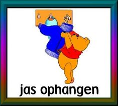 dagritmekaarten uploaded this image to 'Winnie the Pooh/thuis'. See the album on Photobucket. Winie The Pooh, Daily Schedule Cards, Cool Websites, Disney Characters, Fictional Characters, Album, This Or That Questions, Milan, School