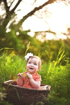 Babies & nature are a sure winner!