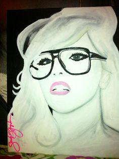 GaGa painting by Sarah Guajardo