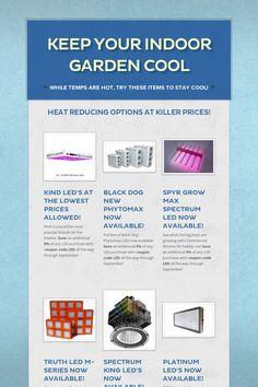 Keep Your Indoor Garden Cool