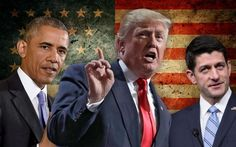 """Below is an excerpt from """"Rock Bottom: A Brief History of the 2016 Presidential Campaign,"""" published by Yahoo University Press in 2022.  President Obama himself rebuked Republican leaders who sought to distance themselves from Trump's rhetoric while continuing to support his candidacy.  """"There has to"""