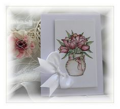 Handmade by Mihaela: Just a few simple spring cards