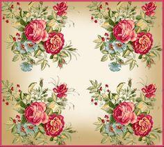 WALL ART..printable vintage roses - pretty!