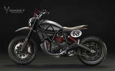 New Ducati Scrambler Concepts Flow in from Gannet Design - autoevolution