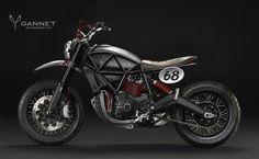New Ducati Scrambler Concepts Flow in from Gannet Design - autoevolution