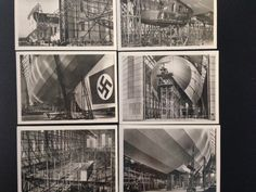 LZ 130 Airship Zeppelin in Bau 12 real photographs in original package on eBid United Kingdom