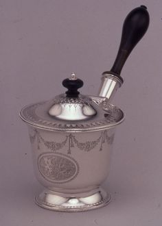Brandy Saucepan, 1787/88, Silver, London, Hester Bateman, 1709-1794