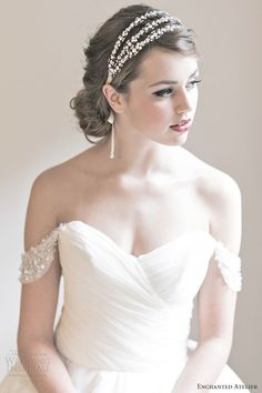 wedding accessories hair style