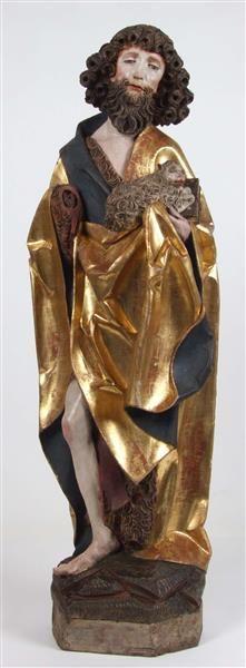 Peter Breuer, Heiliger Johannes der Täufer aus Gersdorf bei Lugau (Sachsen, 1506, Skulpturensammlung, Dresden)