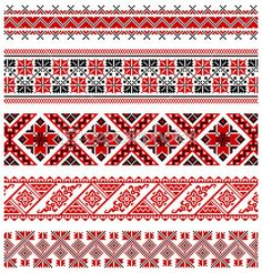 illustrations of ukrainian embroidery ornaments, patterns, frames and borders. Stock Vector - 8877449 Vector - illustrations of ukrainian embroidery ornaments, patterns, frames and borders. Folk Embroidery, Cross Stitch Embroidery, Embroidery Patterns, Cross Stitch Borders, Cross Stitch Patterns, Motifs Blackwork, Palestinian Embroidery, Pattern Design, Needlework