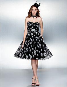 Sweetheart Chiffon Halloween Dress