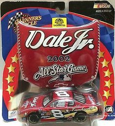 2002 Action Winner's Circle NASCAR Set- Dale Jr. All Star Game #8 This item is NOT in Mint Condition and is in no way being described as Mint or even Near Mint. Our toys have not always lead the perfe